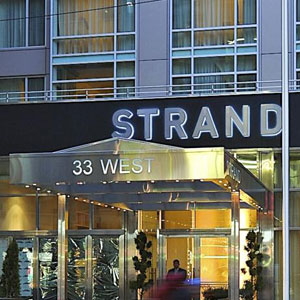 The Strand NY Hotel Bedding By DOWNLITE