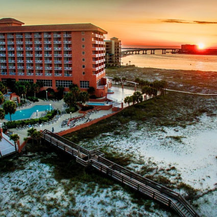 Perdido Beach Resort Bedding