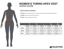 Women's Torrid APEX Vest Custom