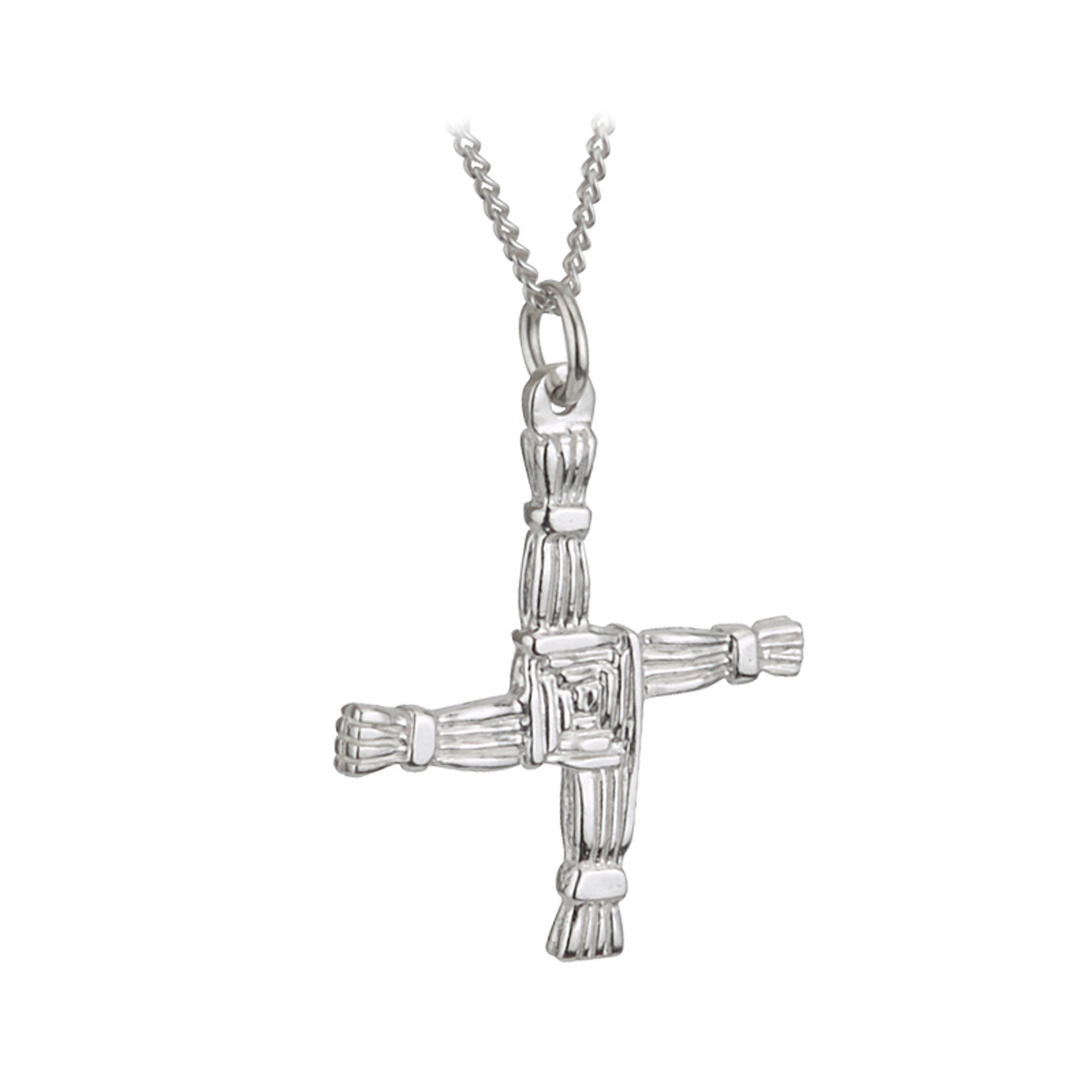 Sterling silver st brigids cross pendant sterling silver st brigids cross pendant aloadofball Gallery