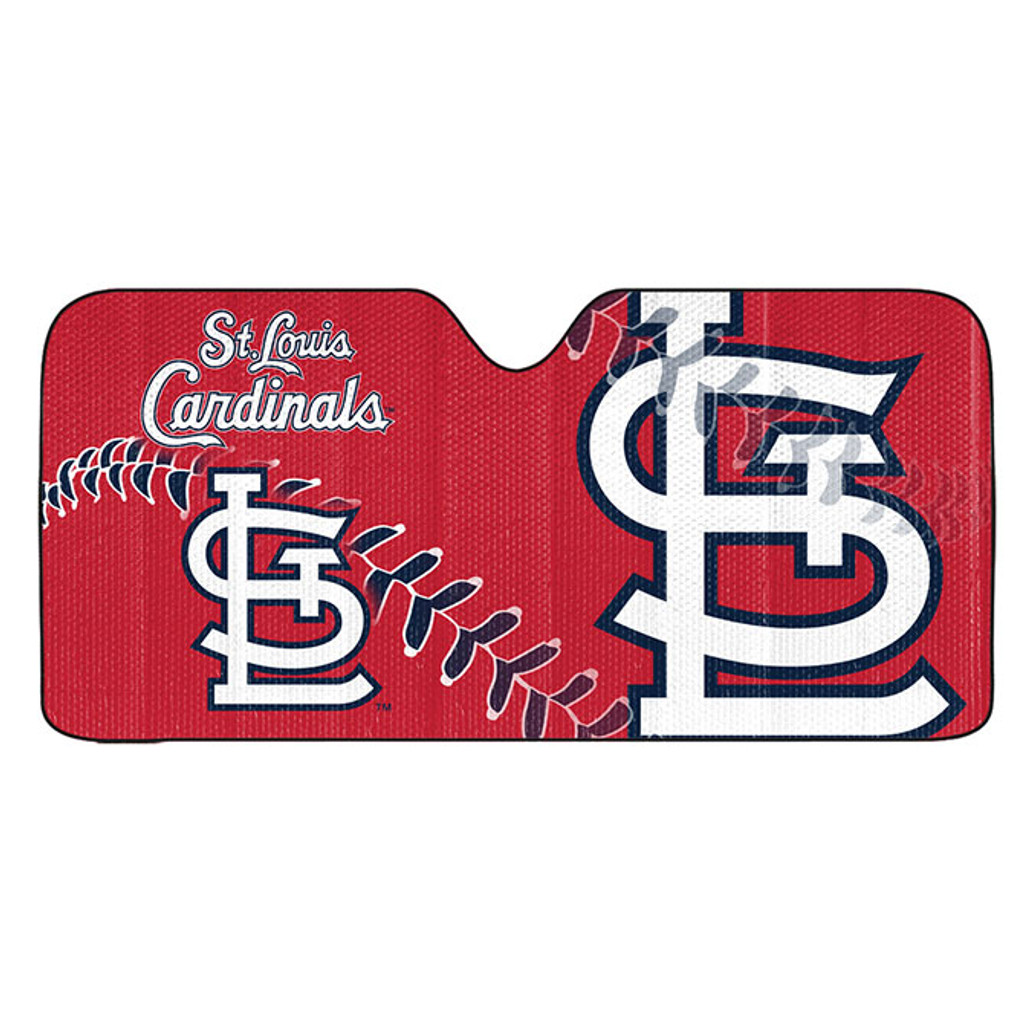 St. Louis Cardinals Auto Sun Shade 59x27