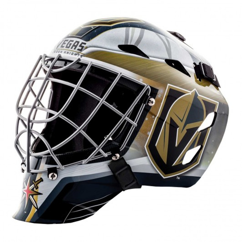 Vegas Golden Knights Helmet Replica Mini Goalie Style