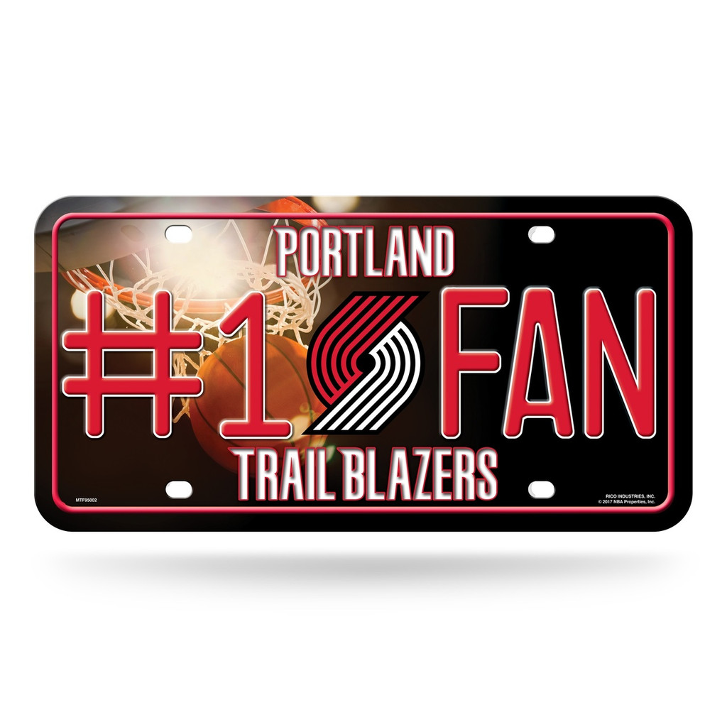Portland Trail Blazers License Plate #1 Fan