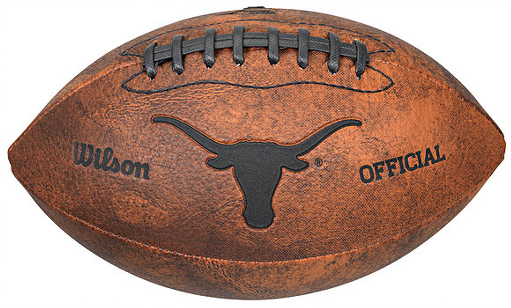 Texas Longhorns Football Vintage Throwback 9 Inches