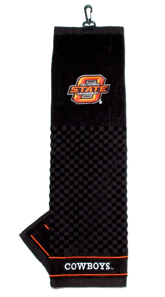 "Oklahoma State Cowboys 16""x22"" Embroidered Golf Towel"
