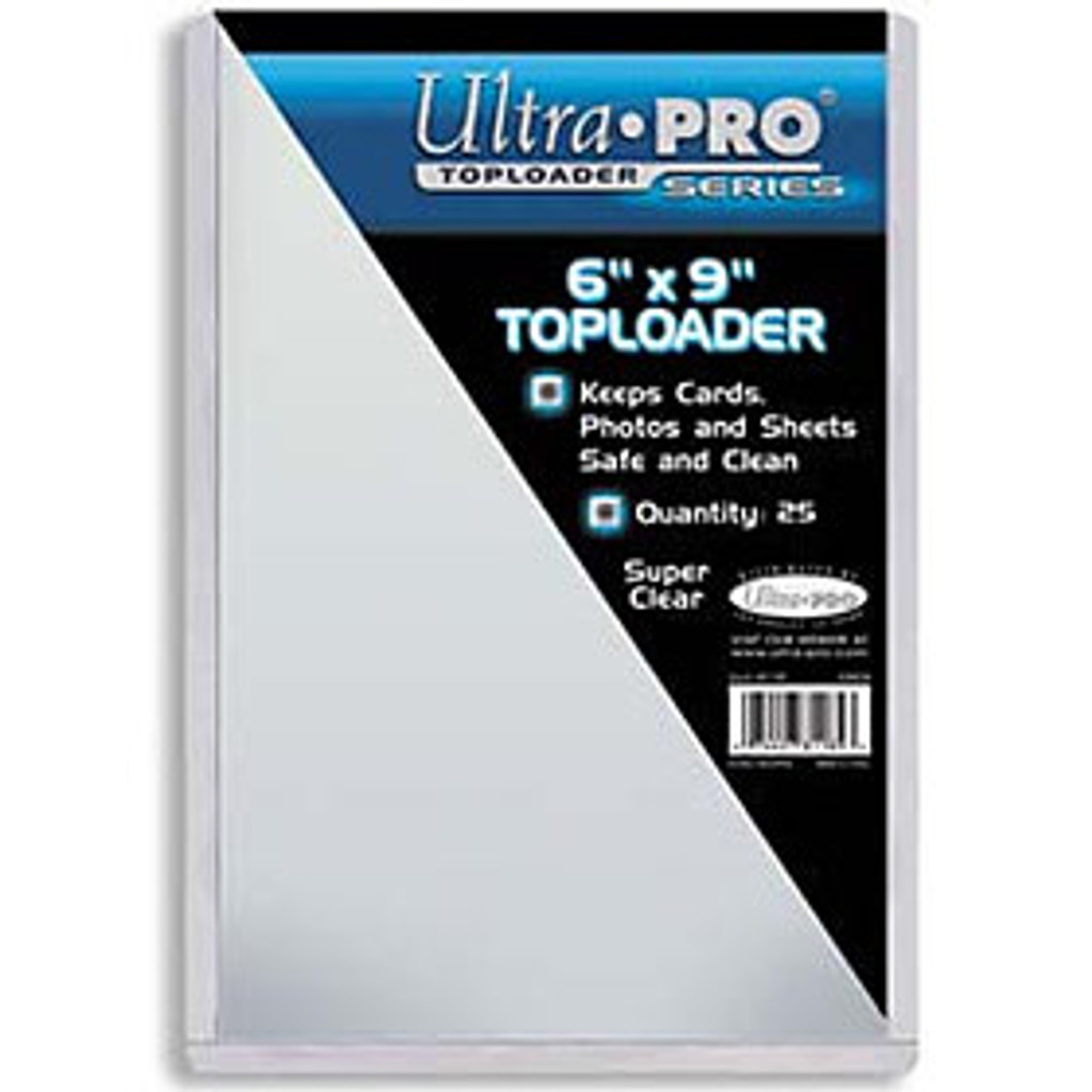 """Top Loader - 6""""x9"""" (25 per pack)"""