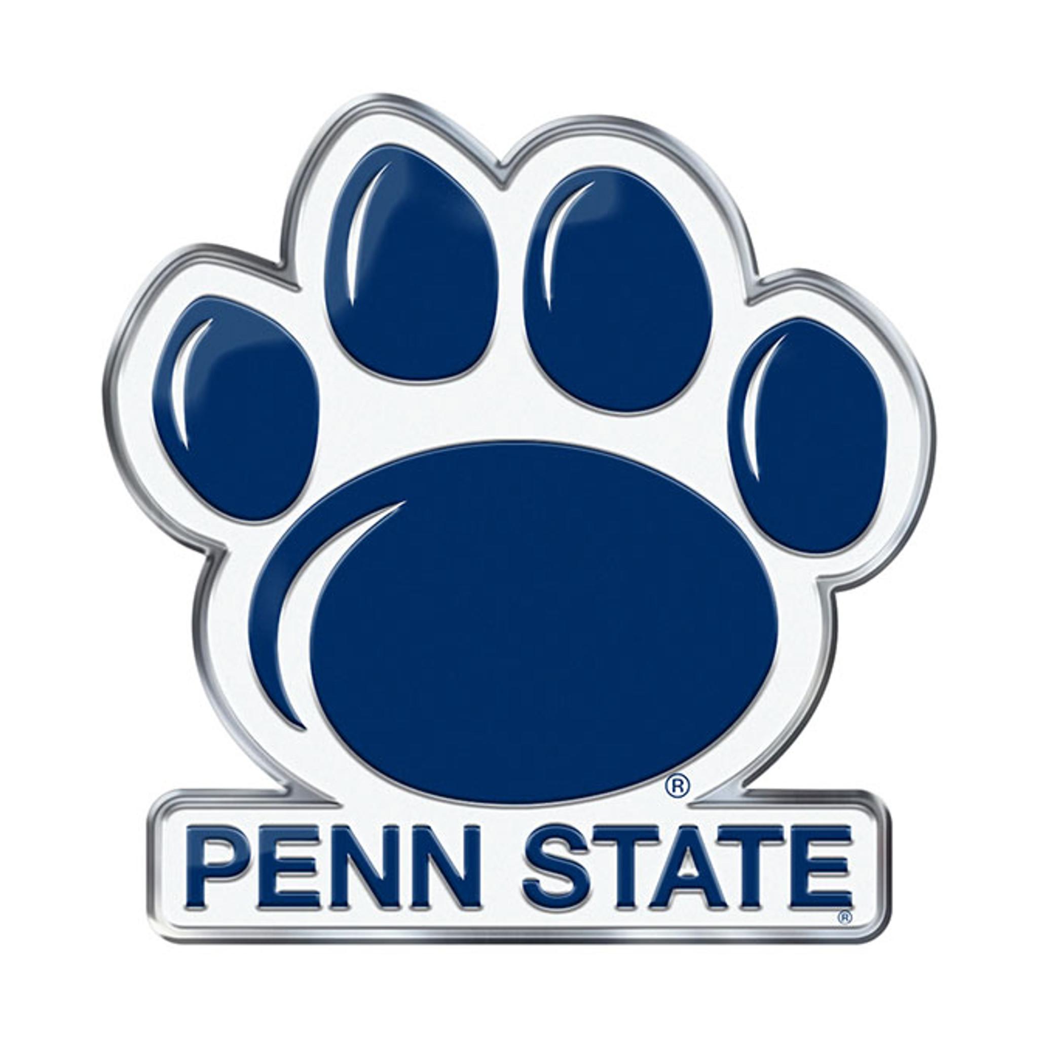 penn state nittany lions auto emblem color alternate logo caseys rh caseys distributing com