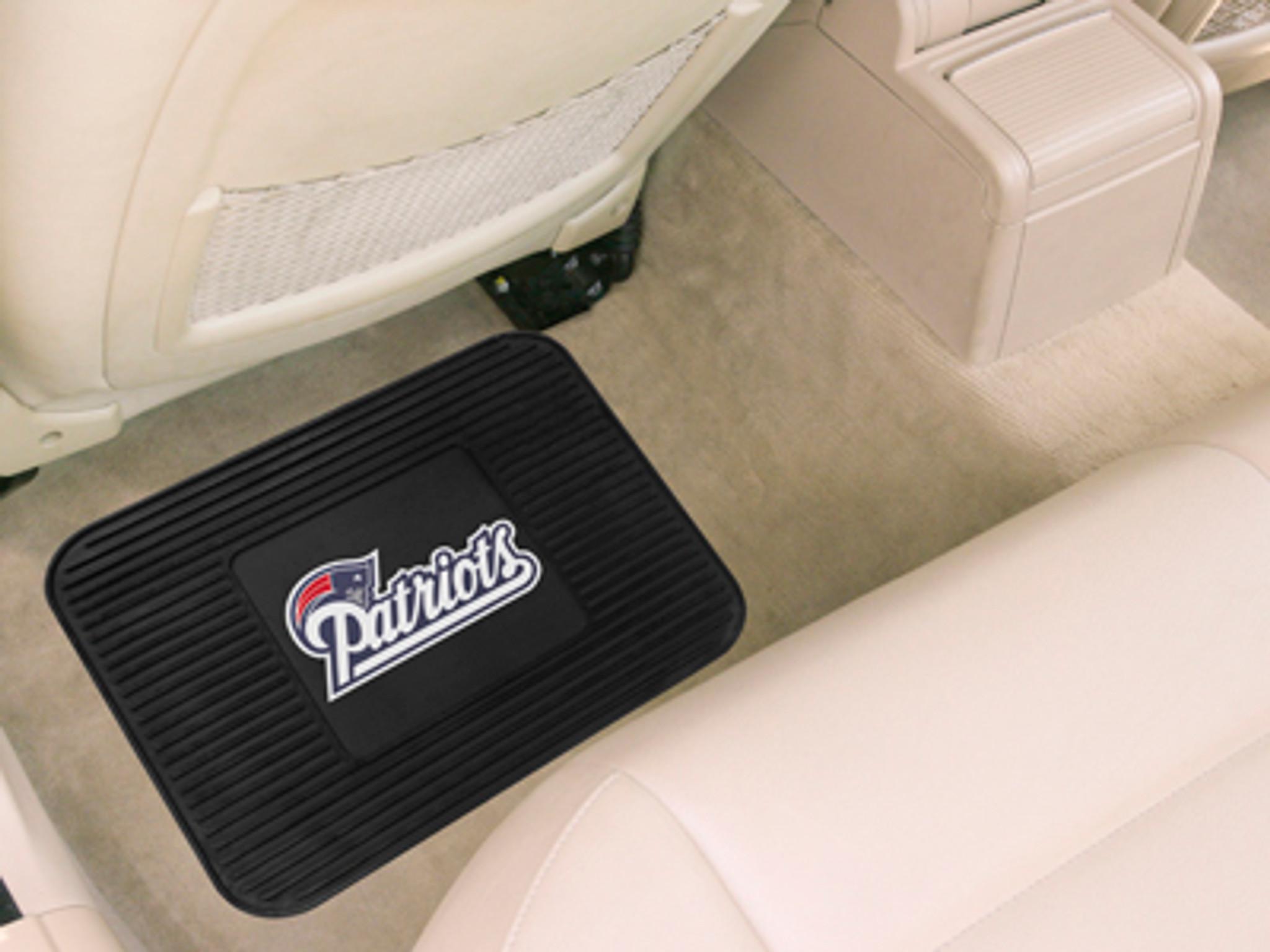 New England Patriots Car Mat Heavy Duty Vinyl Rear Seat