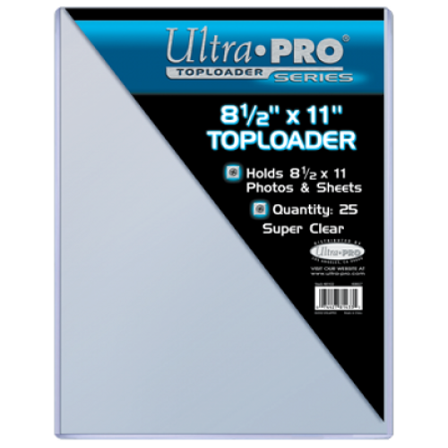 "Top Loader - 8-1/2"" x 11"" (25 per pack)"