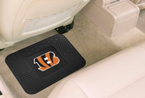 Cincinnati Bengals Car Mat Heavy Duty Vinyl Rear Seat