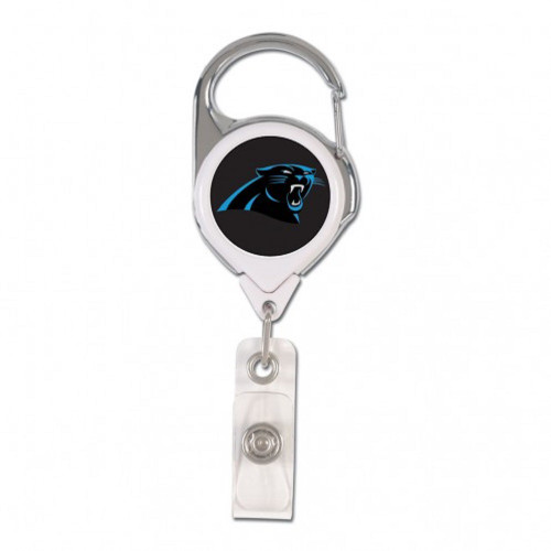 Carolina Panthers Retractable Premium Badge Holder