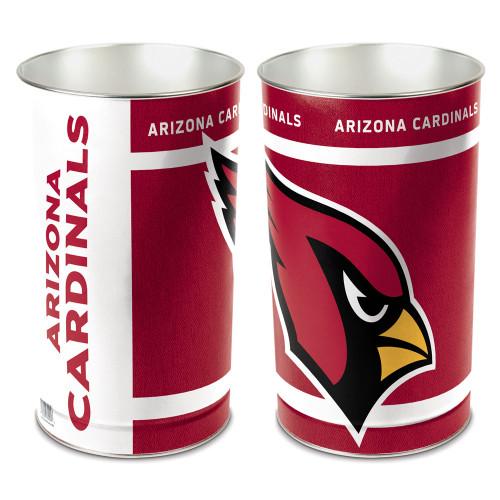 Arizona Cardinals Wastebasket 15 Inch