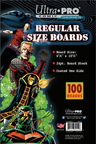 "Boards - Regular 6 7/8"" x 10 1/2"" (100 per pack)"