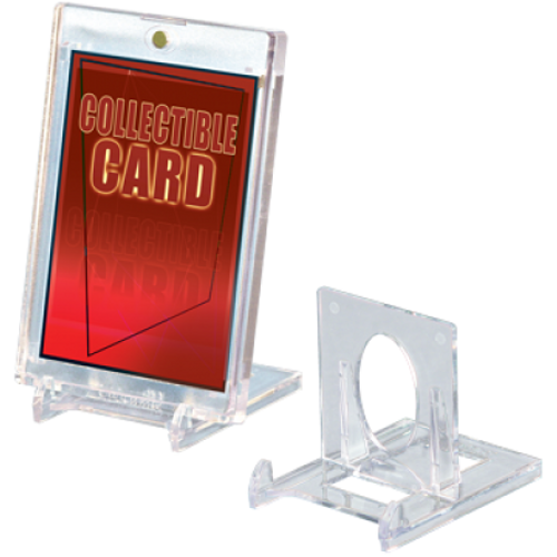 Small Lucite 2pc Card Stand - 5ct