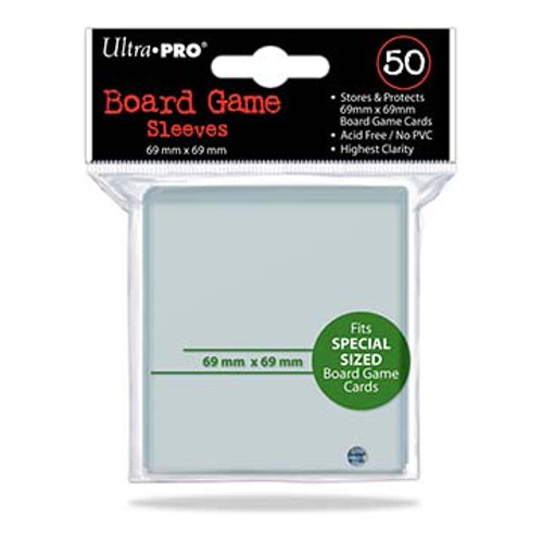 Ultra Pro Board Game Sleeve 69mm x 69mm - 50pk