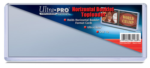 Top Loader Booklet - Horizontal - (10 per pack)