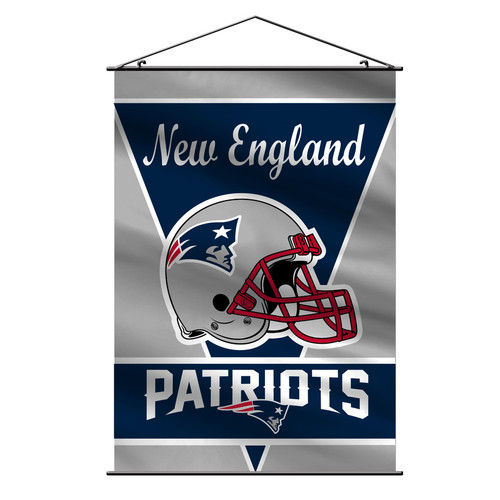 New England Patriots Banner 28x40 Premium