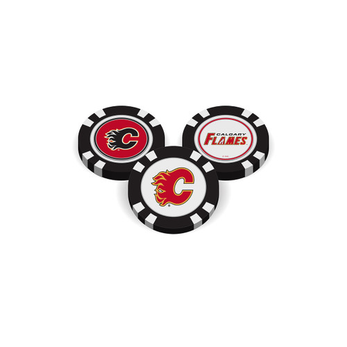 Calgary Flames Golf Chip with Marker