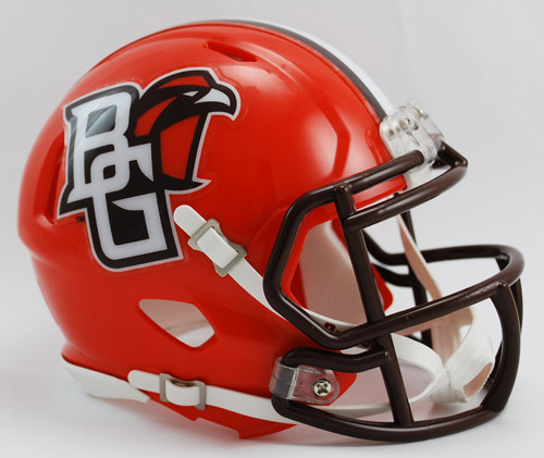 Bowling Green Falcons Replica Speed Mini Helmet