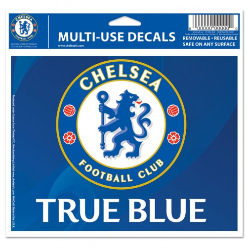 Chelsea Football Club Decal 5x6 Multi Use Color