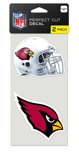 Arizona Cardinals Set of 2 Die Cut Decals