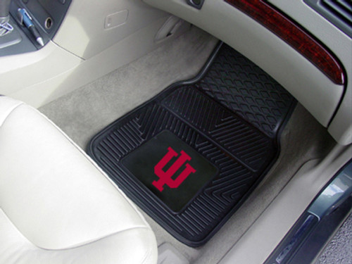 Indiana Hoosiers Heavy Duty 2-Piece Vinyl Car Mats