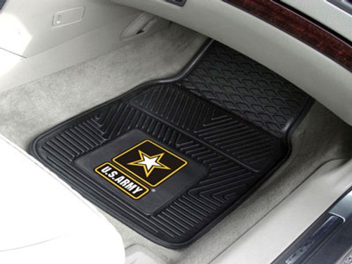 US Army Car Mats - Heavy Duty 2-Piece Vinyl