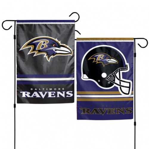 Baltimore Ravens Garden Flag 12x18 Bird Logo Only