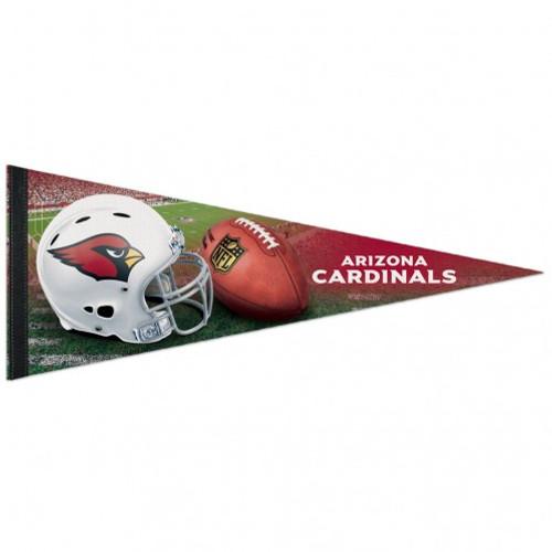 Arizona Cardinals Pennant 12x30 Premium Style Helmet Design