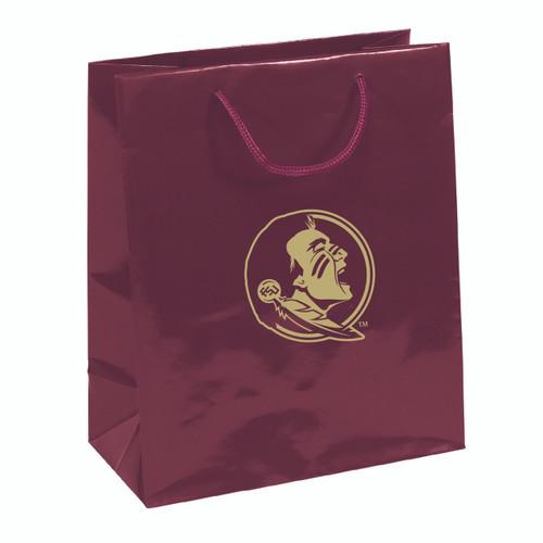 Florida State Seminoles Gift Bag - Elegant Foil