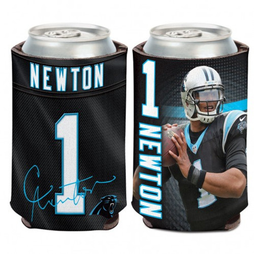 Carolina Panthers Cam Newton Can Cooler