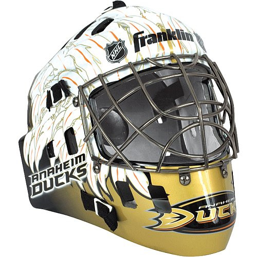 Anaheim Ducks Street Hockey Mask