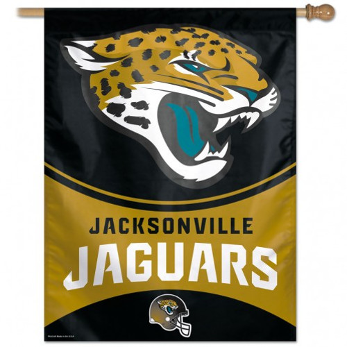 Jacksonville Jaguars Banner 27x37