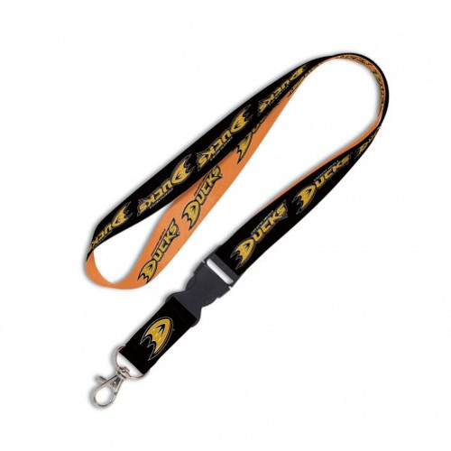 Anaheim Ducks Lanyard with Detachable Buckle