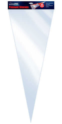 Ultra Pro Pennant Sleeve (20 per pack)