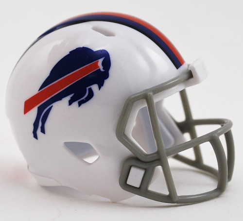 Buffalo Bills Helmet Riddell Pocket Pro Speed Style