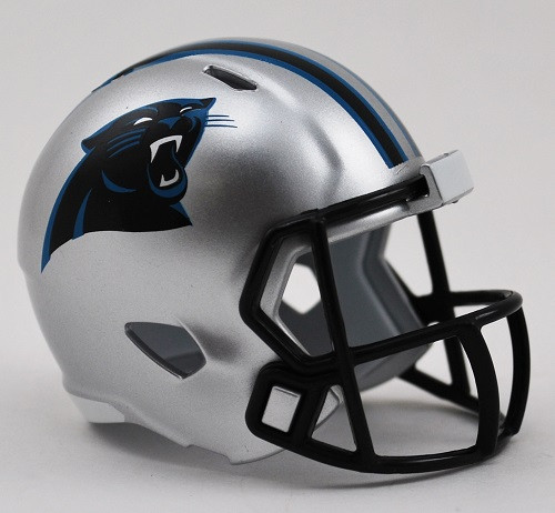Carolina Panthers Helmet Riddell Pocket Pro Speed Style
