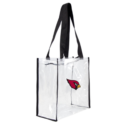 Arizona Cardinals Clear Square Stadium Tote