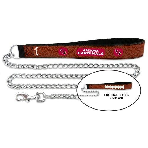 Arizona Cardinals Football Leather Leash - L