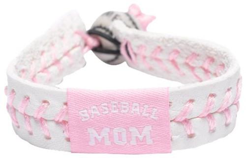 Baseball Mom Pink Baseball Bracelet