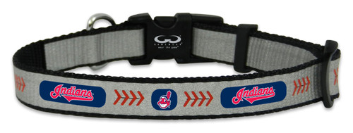 Cleveland Indians Reflective Toy Baseball Collar