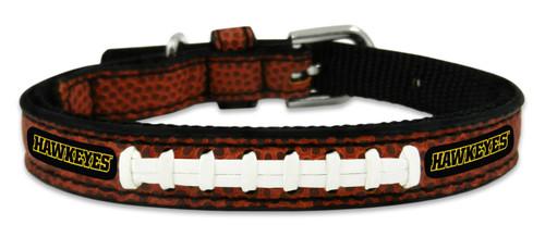 Iowa Hawkeyes Classic Leather Toy Football Collar