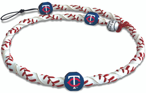 Minnesota Twins Classic Frozen Rope Baseball Necklace