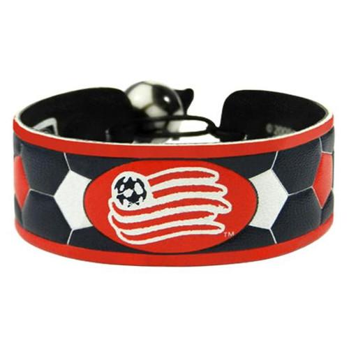 New England Revolution Team Color Soccer Bracelet
