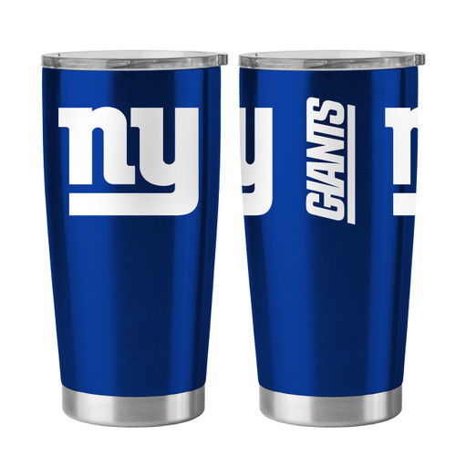 New York Giants Travel Tumbler 20 oz Ultra Flared Blue