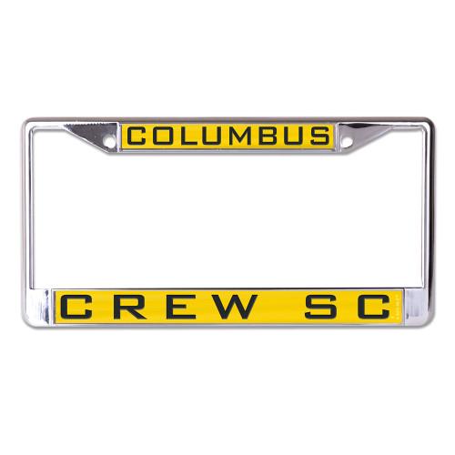 Columbus Crew SC License Plate Frame - Inlaid