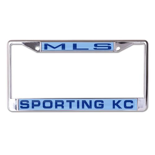 Sporting Kansas City License Plate Frame - Inlaid