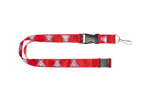 Arizona Wildcats Lanyard - Red
