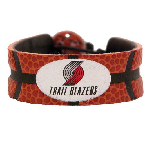 Portland Trail Blazers Classic Basketball Bracelet