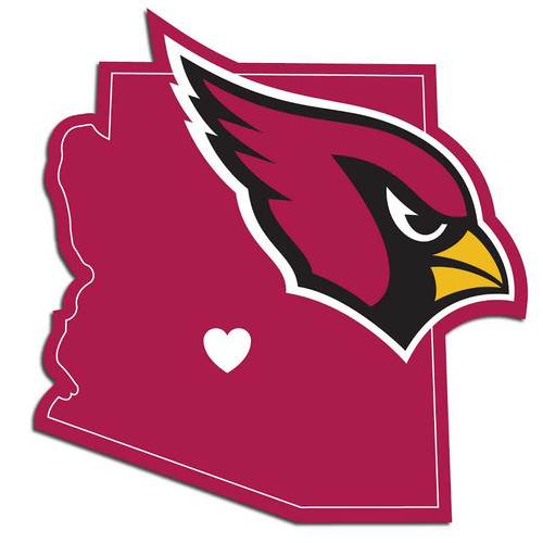 Arizona Cardinals Decal Home State Pride